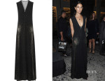 Lily Aldridge's Marc Jacobs Studded Crepe Gown