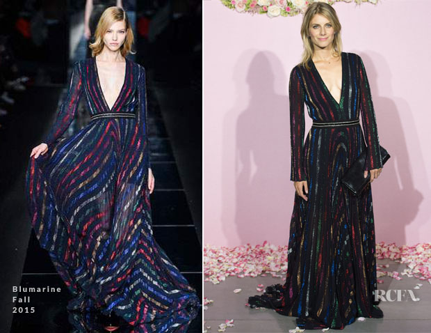 Melanie Laurent In Blumarine - Opening Season Paris Opera Ballet Party