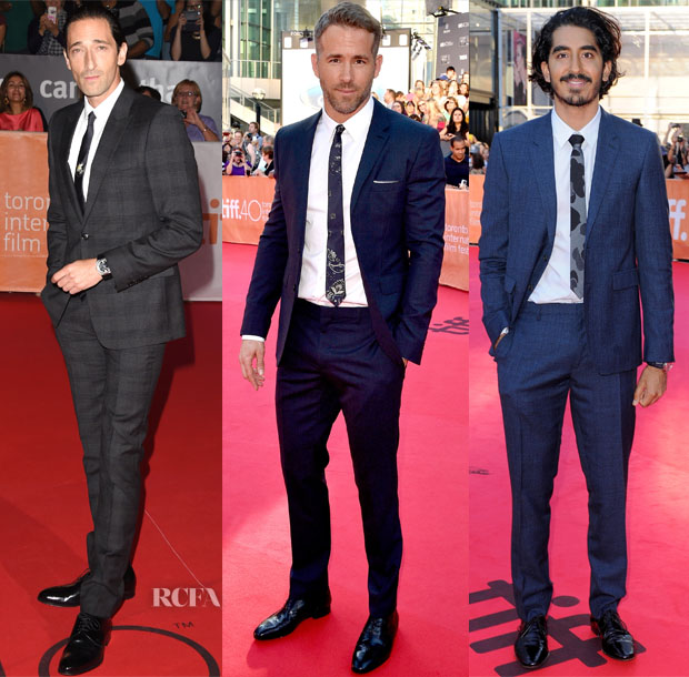 Menswear Red Carpet Roundup 18 sept