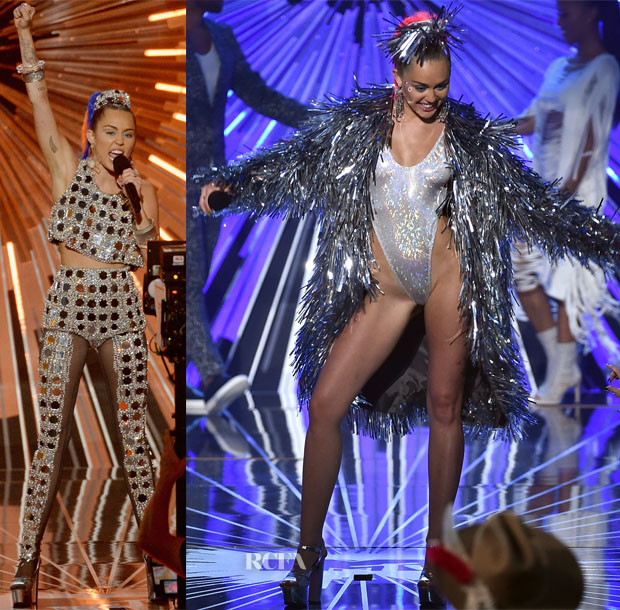 Miley Cyrus In Prada – 2015 MTV Video Music Awards #VMAs