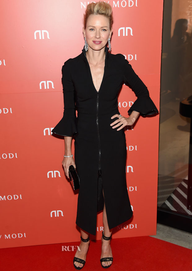 NEW YORK, NY - SEPTEMBER 08:  Actress Naomi Watts attends the Nirav Modi U.S. Boutique grand opening at Nirav Modi Boutique on September 8, 2015 in New York City.  (Photo by Jamie McCarthy/Getty Images)