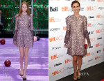 Natalie Portman In Christian Dior Couture - 2015 Toronto International Film Festival Kick-Off Fundraising Soiree