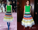 Natalie Portman In Christian Dior Couture - Opening Season Paris Opera Ballet Party