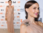 Natalie Portman In Lanvin - 'A Tale Of Love And Darkness' Toronto Film Festival Premiere