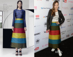 Olivia Wilde In Mary Katrantzou - 2015 Global Citizen Festival In Central Park To End Extreme Poverty By 2030
