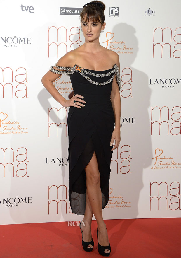 MADRID, SPAIN - SEPTEMBER 09:  Actress Penelope Cruz attends the 'Ma Ma' Premiere at the Capitol Cinema on September 9, 2015 in Madrid, Spain.  (Photo by Fotonoticias/WireImage)