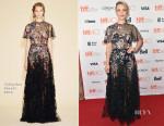 Rachel McAdams In Valentino - 'Spotlight' Toronto Film Festival Premiere