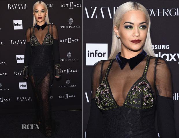 Rita Ora In Prada - 2015 Harper's Bazaar ICONS Event