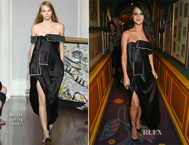 Selena Gomez In Monse - Dinner Party