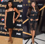 Taraji P. Henson In Emanuel Ungaro & Moschino - 'Empire' Series Season 2 New York Premiere & Dinner Party