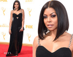 Taraji P. Henson In Alexander Wang - 2015 Emmy Awards
