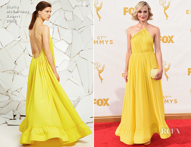 Taylor Schilling In Stella McCartney - 2015 Emmy Awards