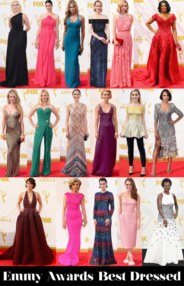 Who Was Your Best Dressed At The 2015 Emmy Awards