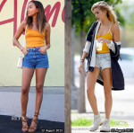 Who Wore Topshop Better Ashley Madekwe or Hailey Baldwin