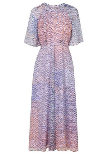 lk bennett Madison Chiffon Print Dress