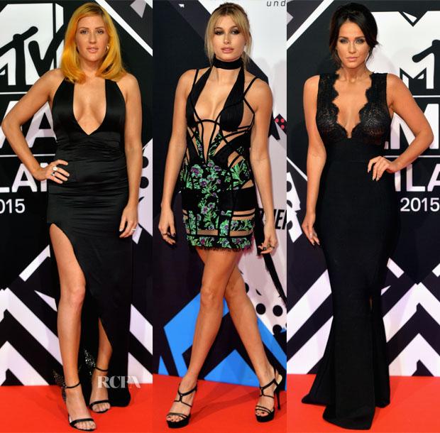 2015 MTV EMA's Red Carpet Roundup