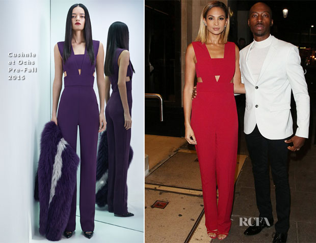 Alesha Dixon In Cushnie et Ochs - Ant & Dec's 40th Birthday Party