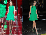 Amal Clooney In Versace - Out In New York City