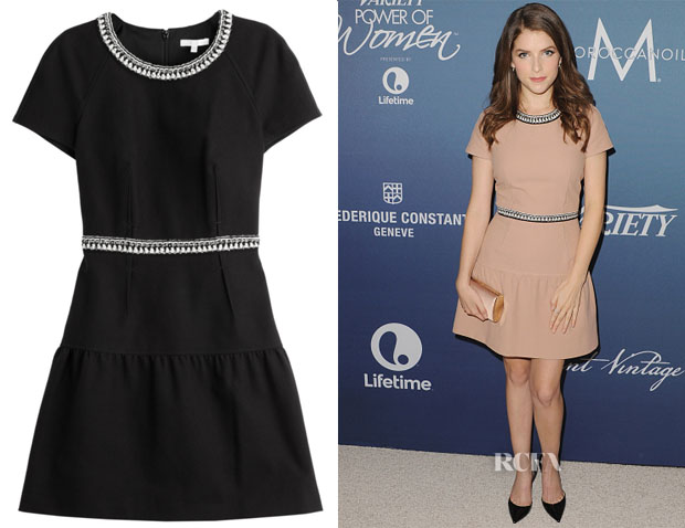 Anna Kendrick's Paule Ka Cotton Piqué Dress