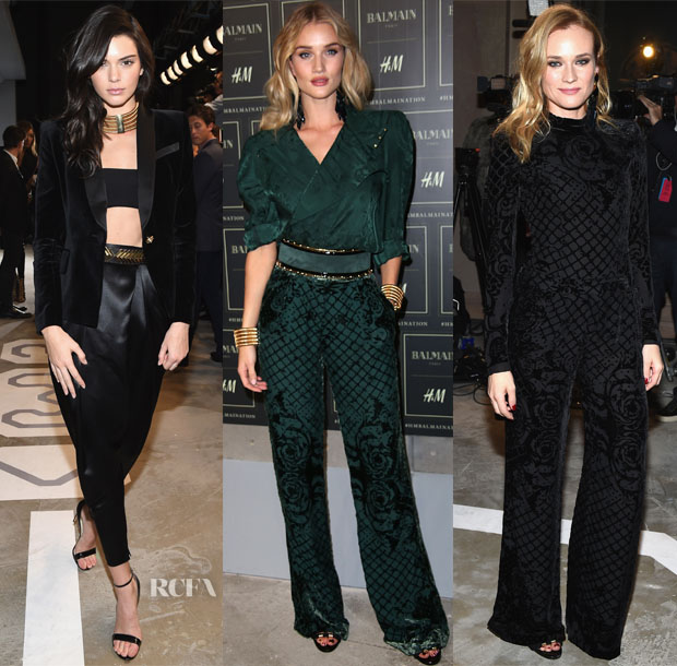 Balmain x H&M Collection Launch Party 1