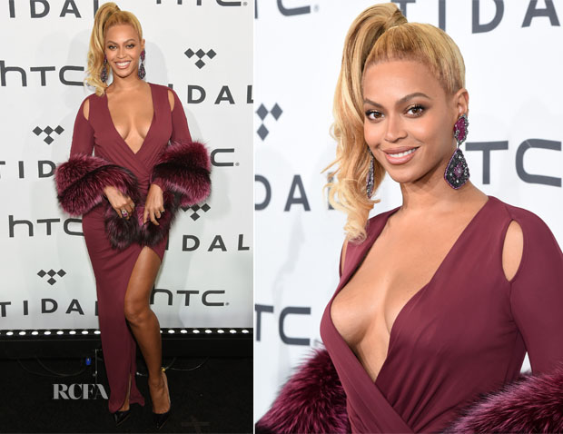 Beyonce Knowles In Philipp Plein - TIDAL X 1020