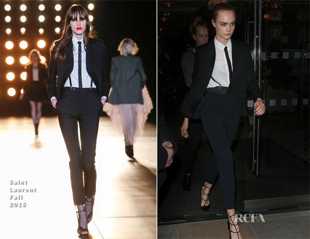 Cara Delevingne In Saint Laurent - Women in the World Summit