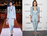 Carey Mulligan In Marc Jacobs -  2015 ELLE Women In Hollywood Awards