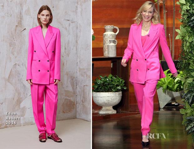 Cate Blanchett In Edun - The Ellen DeGeneres Show
