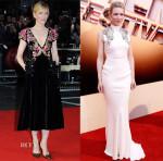 Cate Blanchett In Schiaparelli Couture & Alexander McQueen - 'Truth' Fellowship Special Presentation Gala & London Film Festival Awards