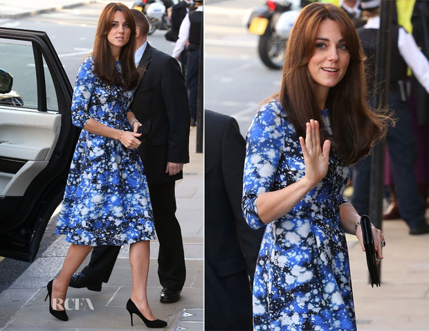Catherine, Duchess Of Cambridge In Tabitha Webb - The Charities Forum