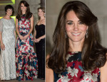 Catherine, Duchess of Cambridge In Erdem - 100 Women In Hedge Funds Gala Dinner