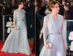 Catherine, Duchess of Cambridge In Jenny Packham - 'Spectre' London Premiere