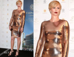 Charlize Theron In Tom Ford - Captiol Grand Event