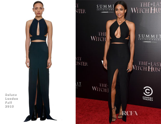 Ciara In Solace London - 'The Last Witch Hunter' New York Premiere