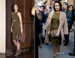 Demi Lovato In Alice + Olivia - Out In New York City