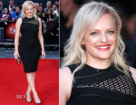 Elisabeth Moss In David Koma - 'High-Rise' London Film Festival Screening