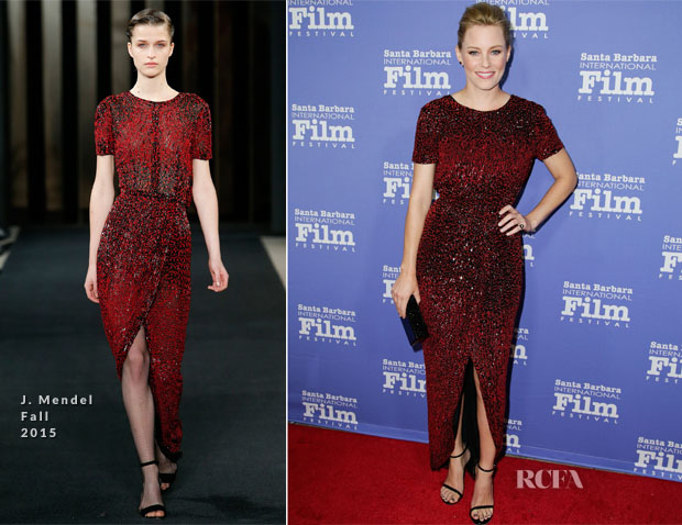 Elizabeth Banks In J. Mendel - Santa Barbara International Film Festival