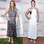 Emily Blunt In Ulyana Sergeenko Demi-Couture & J. Mendel - 23rd Annual Hamptons International Film Festival