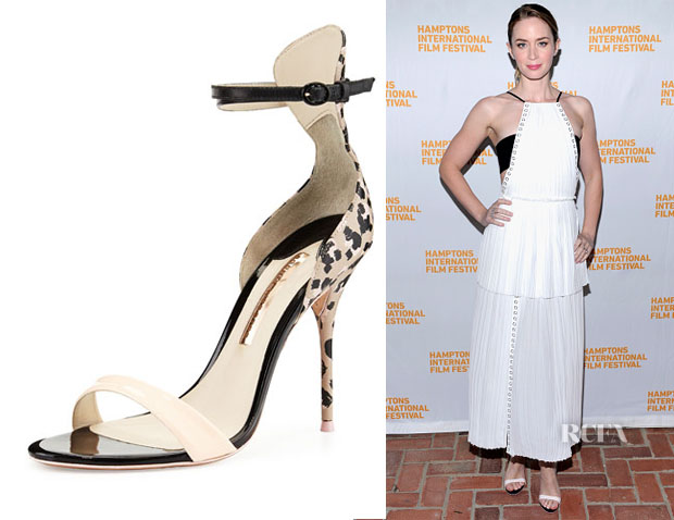 Emily Blunt's Sophia Webster Nicole Sketch Camo Sandals