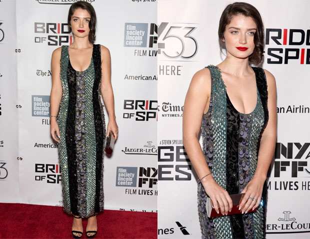 Eve Hewson In Prada - 'Bridge Of Spies' New York Film Festival Premiere
