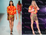 Fergie In Emanuel Ungaro S15 - Outspoken Party By Fergie Launch Party