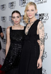 Rooney Mara in Chanel Couture and Cate Blanchett in Aouadi Paris Couture