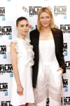 Rooney Mara in Giambattista Valli and Cate Blanchett in Givenchy
