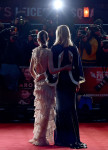 Rooney Mara in Alexander McQueen and Cate Blanchett in Esteban Cortazar