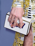 Diane Kruger's Anya Hindmarch clutch
