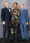 Daniel Craig in Tom Ford, Naomie Harris In Valentino and Christoph Waltz in Prada