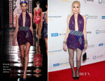 Gwen Stefani In Reem Acra - 2015 UCLA Neurosurgery Visionary Ball