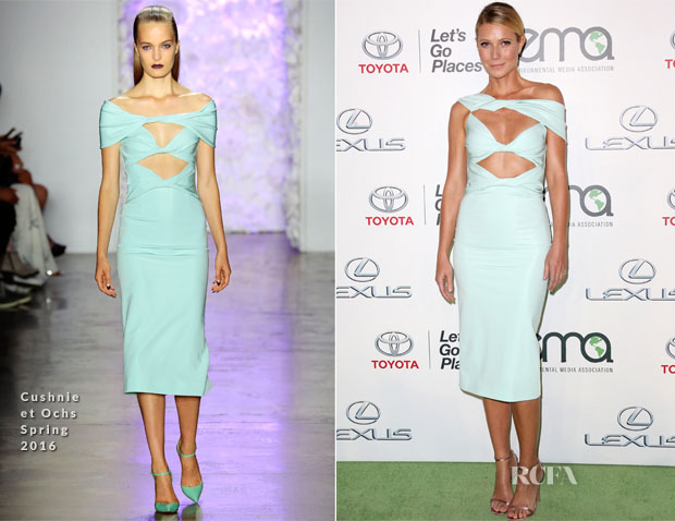 Gwyneth Paltrow In Cushnie et Ochs - 25th Annual EMA Awards