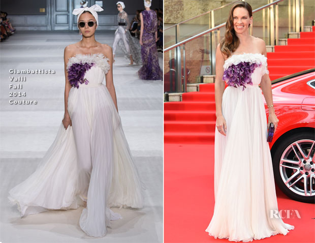 Hilary Swank In Giambattista Valli Couture - Tokyo International Film Festival 2015 Opening Ceremony