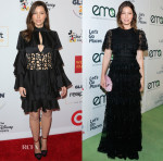 Jessica Biel In Balmain & Valentino - 2015 GLSEN Respect Awards & 25th Annual EMA Awards